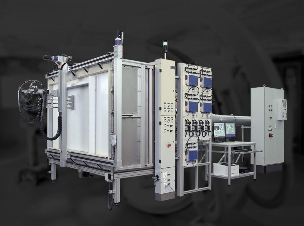 Auto Scanner for HEPA and ULPA filters, EN1822