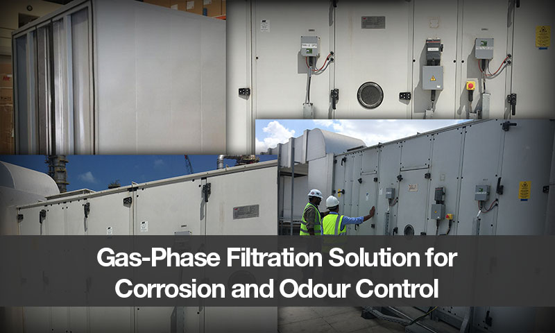 Gas-Phase Filtration Solution for Corrosion and Odour Control