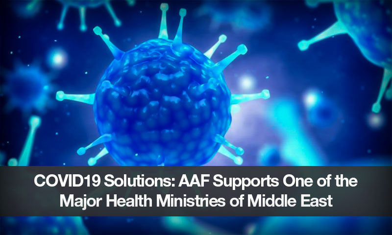 COVID19 Solutions: AAF Supports One of the Major Health Ministries of Middle East