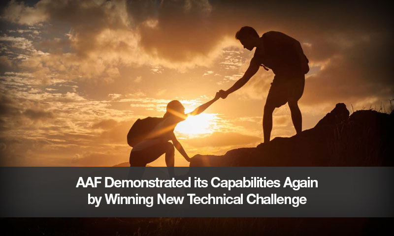 AAF Demonstrated its Capabilities Again by Winning New Technical Challenge